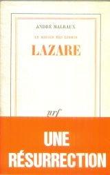 Le miroir des limbes. lazare par André Malraux