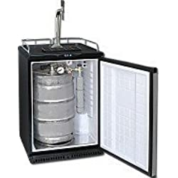 Refrigerador del barril de cerveza hasta 50L Barriles (Barra de la cerveza) - Incl. Torre Elegante y Válvula de compensador