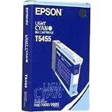 Epson C13T545500 T5455 Farbpatrone Standardkapazität 110 ml 1er-Pack, hell cyan