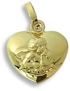 Schutzengel Anhänger echt 585 Gold 14 Karat (330)