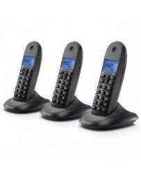 Motorola C1003 Trio - Teléfono fijo