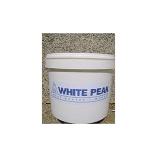 Lincolnshire Lime White Peak Buxton Lime Wash White 10L by Lincolnshire Lime