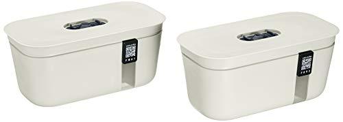 Vacuvita containers-01Liter, Farbe, weiß, KLEIN