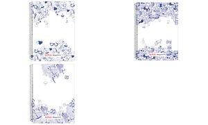 herlitz Spiralbuch my.notes, DIN A6, 100 Blatt, kariert (11014594-001)