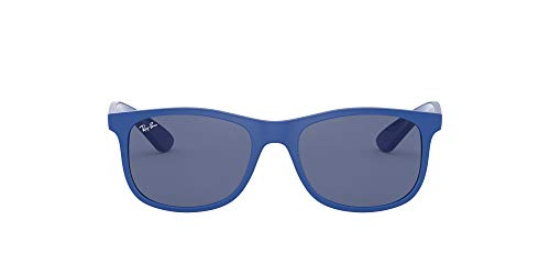Ray-ban rj9062s montature, blu (matte blue/darkblue), 48 unisex-bambini