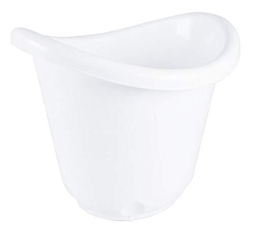 Bieco 79000064 - Cubo de baño ergonómico para bebés base de goma antideslizante, para recién nacidos...