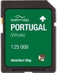 Satmap mapcard: Portugal Adventure Karte (1: 25K)