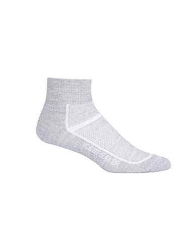 Icebreaker WMNS Multisport Ultra Light Mini Socken Multi-activités Damen L Blizzard Hthr/White -