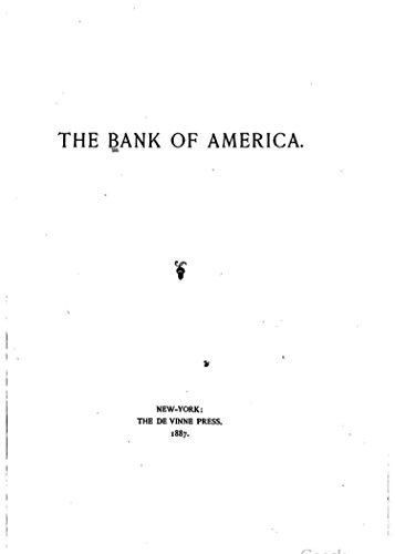 the-bank-of-america-english-edition