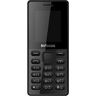 Infocus Hero Smart P4 Dual SIM Mobile Phone with 1000mAH Battery and 1.8-inch Screen (Black)
