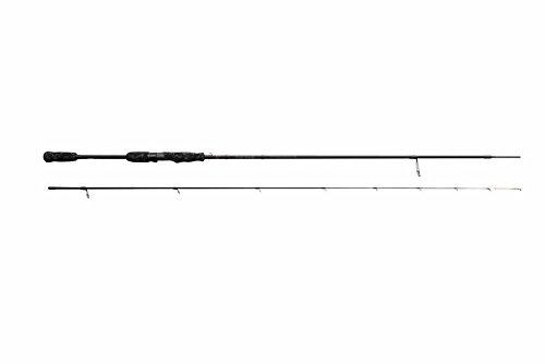 Savage Gear Black Savage Dropshot 223cm 2-12g Rute, Drop Shot Rute, Angelrute Dropshot Montage, Dropshotrute, Spinnrute Barsch, Zander