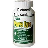 Comstar International 30620 Abflussöffner Pure Lye, Kristall, 0,9 kg