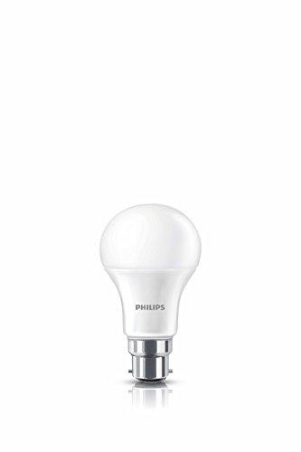 Philips Base B22 9-Watt LED bulb (Cool Day Light,Pack of...