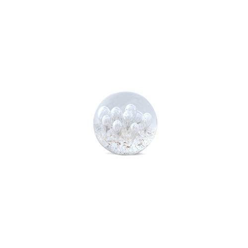 Art Deco Home - Presse-Papier Cristal Blanc 8 cm - 14313SG