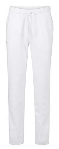 Lacoste XH7611 Herren Jogginghose,Männer Jogger,Trainingshose,Sporthose,Sweatpans,Regular Fit,Baumwolle,White(001), XXX-Large (8) - Herren Lacoste Jeans