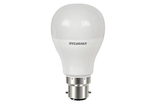 Sylvania SYL0026674 Ampoule led standard B22 6,5W 470 lumens, Blanc