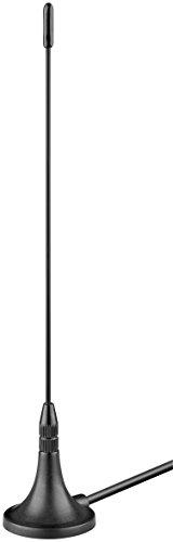 DVB-T Antenne passiv (3 dB) mit Magnetfuß für DVB-T2 HD / DVB-T / DAB Empfang