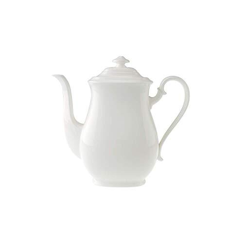 Villeroy & Boch Royal Cafetière, 1,1 l, Porcelaine Premium Bone, Blanc