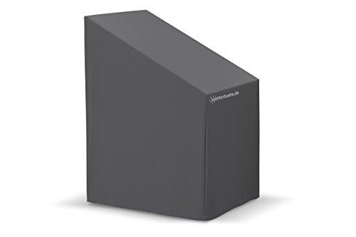 wettertuete Wettertuete Stuhlstapelabdeckung 70 x 85 x 120/80 cm (BxLxH) wasserdicht, atmungsaktiv, verschweißte Nähte, UV-Schutz, Abdeckplane, Abdeckhaube