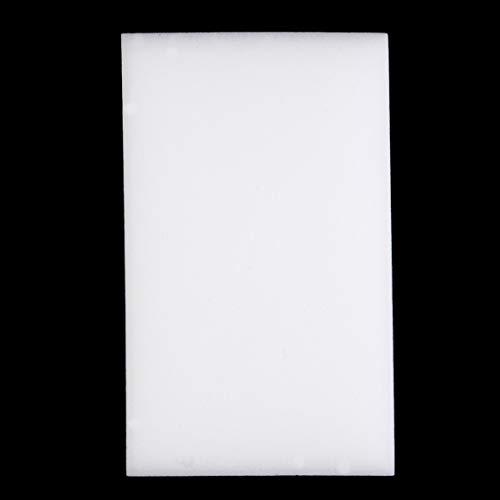 Schwamm Scourers Non Scratch 100pcs / lot, weißer magischer Radiergummi-Schwamm-Multifunktionsreinigungs-Werkzeug, Melamin-Schwamm-Reinigungs-Materialien leichte Küchen-Versorgungsmaterialien
