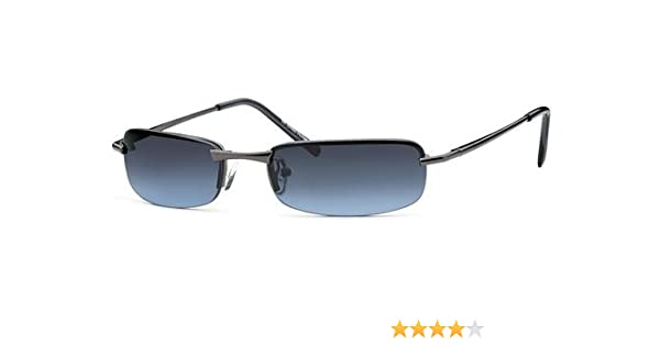 Feinzwirn sportlich elegante Sonnenbrille Irvillac mit Flexbügeln für schmale Köpfe + Brillenbeutel - Agent Smith Sonnenbrillen YfQVWju