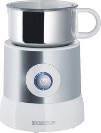 Milchaufschäumer, Silber/weiß, Leistung 500 Watt, Inhalt ca. 500 ml