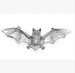 Confezione regalo Pewter Pin Badge-Spilla a forma di pipistrello, idea regalo o per cravatta, sciarpa, cappello, cappotto o in borsa