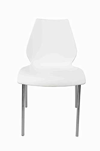 Ventura Plastic Chair (White)