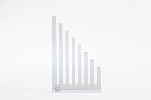 draymond Story Acryl Office Supplies Bundle 1) Datei Organizer 1) Tischabroller (Desktop Stationery)