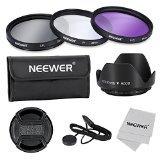 Neewer 10074737 55 mm Objektiv-Filter-Profi Zubehörsatz für Canon/Nikon/Sony/Pentax/Samsung/Fujifilm