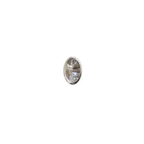 Charlotte Damen-Schmuckelement Cha21 Kopf oval Edeltopas Ag 91-102495-1mm