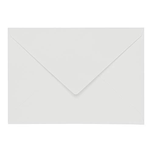 50x original ARTOZ DIN C7 Mini-Umschläge - 100 g/m² // Serie 1001 // 110 x 75 mm // Weiß - Mini 110 Serie