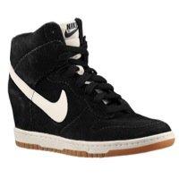 Nike W Dunk Ski Hi Int, Damen Clogs & Pantoletten, schwarz - schwarz - Größe: 43 EU