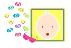 Novelties Direct Pin the Dummy Baby Shower Game by Novelties Direct
