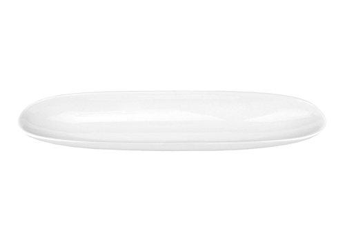 Geschirr-Serie AVANTI-Kollektion, Porzellan zum Servieren für Privat und Gastronomie, Baguette-Schale 35cm