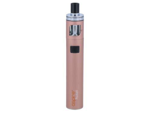 Aspire PockeX E-Zigaretten Set - 1500 mAh Akkukapazität - 2 ml Tankvolumen - Farbe: rosegold (Aspire E-zigaretten Sets)