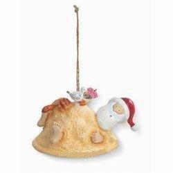 Santa Tropical Beach Sand Crab Christmas Ornament by Cape Shore