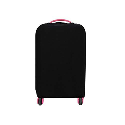 Gepäck Cover,Kofferschutzhülle Elastisch Kofferhülle mit Band und Klettverschluss zum 22-30 Zoll Reisekoffer Hülle