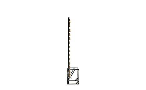 Einzel WANDBETT (Längs) 90cm x 200cm (Klappbett, Schrankbett, Gästebett, Funktionsbett) WALLBEDKING Classic - 5