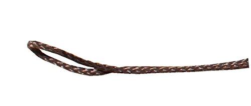 Corde polypropylène tressé 2 mm 50 m ou 100 m en différentes couleurs 10cm sample marron