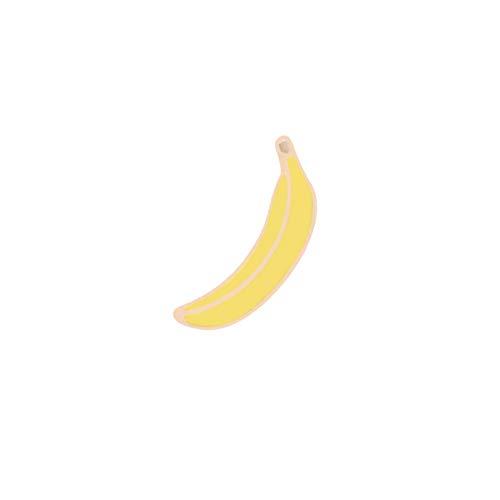 Trinken Kostüm Verwandte - JTXZD Brosche Obst Brosche Denim Revers Zubehör süße Banane Erdbeere Spiel Hine Trinken Milch Pin Boy Frauen Abzeichen s