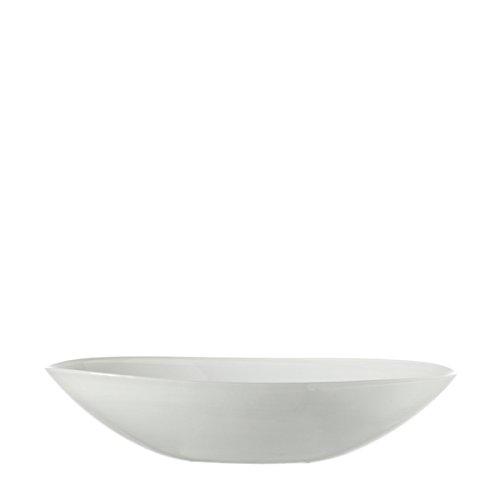 LEONARDO HOME Schale oval 32 weiß Alabastro (Kleine Weiße Glasschalen)