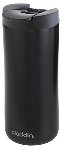 ALADDIN Thermobecher, Edelstahl, mattschwarz, 0,35 Liter