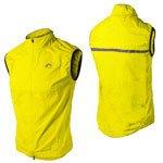 More Mile Mens Running Gilet / Sleeveless Running Jacket