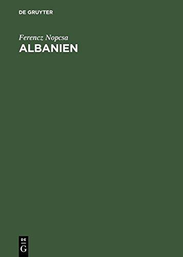 Albanien: Bauten, Trachten und Geräte (Tracht Albanische)