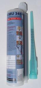 1 Kartusche Injektionsmörtel VMU 345 Vinylesterbasis/styrolfrei