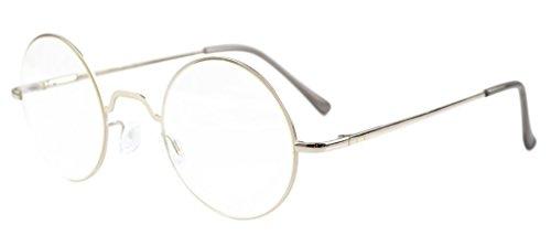 Eyekepper las bisagras del resorte redondo de los vidrios de lectura Silver +0.5