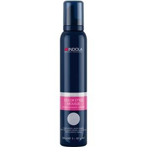 Indola Color Mousse, 200 ml, silber