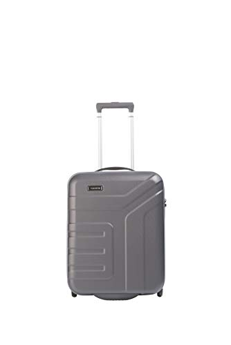 Travelite Valise trolley 'Vector' avec 2 roues anthracite Valigia, 55 cm, 44 liters, Nero (Anthracite)