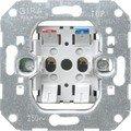 GIRA 016100 Aluminio interruptor de luz - Interruptores de luz (Aluminio, 1...